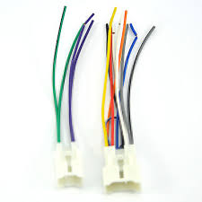 toyota pickup radio wiring image wiring toyota amp car stereo cd player wiring harness wire aftermarket on 1987 toyota pickup radio wiring
