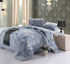 bedding sets ease bedding with style cotton blend well designed printed fl pattern duvet cover sets fullqueen size