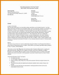 9 Internship Contract Example - Besttemplates - Besttemplates