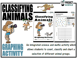 Animal Activity Chart Classifying Animals Graphing Activity