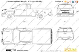 chevrolet colorado extended cab long box vector drawing Wiring Diagram for 2008 Chevy Colorado chevrolet colorado extended cab long box