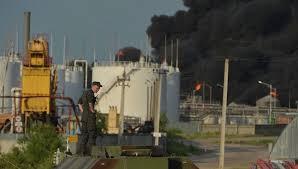 Червоненко пожар под Киевом самая большая катастрофа  Сотрудники ГСЧС локализовали эпицентр огня на нефтебазе под Киевом