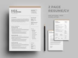 Resumecv By Designsbird On Dribbble