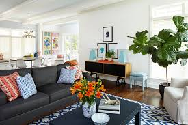 transitional living room by brett bulthuis photography