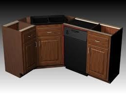 Corner Kitchen Sink Cabinet Corner Sink Base Kitchen Cabinet