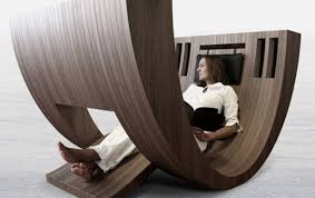 funky wood furniture. Funky Wooden Furniture Designs - Lounge Chair Wood A