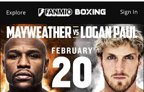 The pair squared off and exchanged insults before the alleged altercation started after jake bizarrely steals mayweather's hat. Floyd Mayweather Logan Paul Fight Will Not Take Place Feb 20 Ny Fights