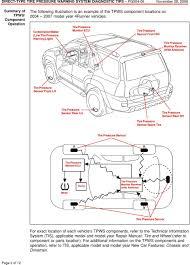 2007 Scion Tc Tire Pressure Light Reset Technical Service Bulletin Pdf Free Download