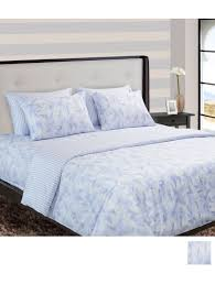 nu cover king size duvet cover faye bnu1741kdfaye size 90 x 100 inches white blue