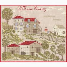 French Cross Stitch Charts Ambiance Rurale French