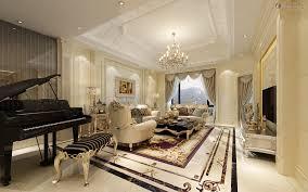 european living room style