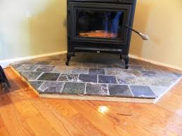 image of how to build a raised fireplace hearth