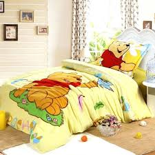 winnie the pooh comforter the pooh bedroom honey the pooh c velvet bedding model pooh bedding winnie the pooh comforter cartoon printing bedding