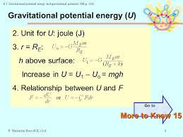 6 gravitational potential