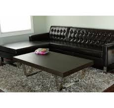 modern home and office furniture pangea sienna rectangular coffee table