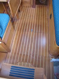 teak and ash boat flooring