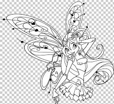 Winx Club Believix In You Bloom Drawing Kleurplaat Winx Club