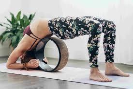 yoga wheel backbend image 1