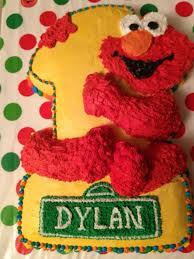 Elmo First Birthday Cake Happy 1st Birthday Elmo Themed
