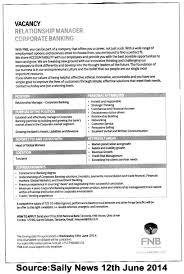 Relationship Manager Job Description Resume Business Banking Relationship Manager Resume Examples Jobcription 11