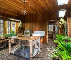 Brick Flooring In Kitchen Splashy Sweet Jojo Designsin Garage And Shed Traditional With