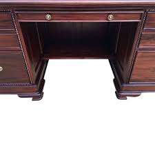 antique mahogany large home office unit. Solid-Mahogany-Wood-Office-Desk-Executive-Large-Computer- Antique Mahogany Large Home Office Unit