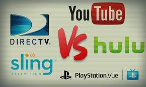 Dish Channel Comparison Chart Hulu Live Vs Youtube Tv Vs Sling Vs Vue Vs Directv Now