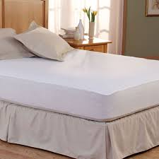 pacific coast bed defender waterproof mattress pad w fitted skirt twin 39x80 6 per case price each mattress cover waterproof i83 cover
