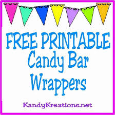 Free Candy Wrapper Template Awesome 10 Printable Candy Bar