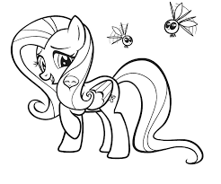 Small Picture 13 My Little Pony Coloring Pages Fluttershy Cartoons printable