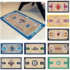 nba teams 24 x 44 basketball court runner area rug floor mat basketball court rug