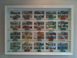 glass display case. PICTURE BOX Wall Display Cabinet Glass Case