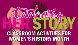 Womens History Month Activities Celebrating Her Story