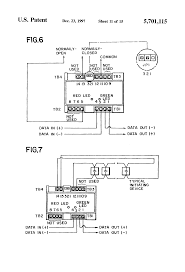 patent us5701115 field programmable module personalities fire alarm addressable system wiring diagram pdf at Fire Alarm Module Wiring Diagram