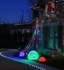 outdoor holiday lighting ideas architecture. #DIY Basketball Hoop Christmas Tree + Top 10 Outdoor Lights Ideas! I Will Holiday Lighting Ideas Architecture Y