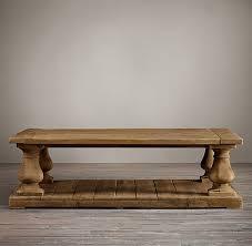 barade salvaged wood coffee table