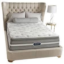 beautyrest recharge box spring. Beautyrest Recharge World Class Sea Glen Plush Super Pillow Top Queen-size Mattress Set Box Spring X