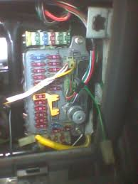 disconnected fusebox connections land rover forums land rover the vehicle is a 97 chassis disco rhd 300tdi auto