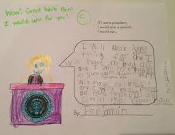 maria s year old s essay on being president wwmx fm ben s essay