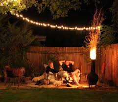 outdoor patio string lights design