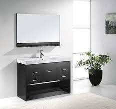 usa tilda single bathroom vanity set: virtu quot gloria ms  modern single vanity bathroom cabinet set promo