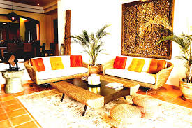 indian living room interior decoration ideas traditional with oriental wall decor and wooden floor carpet rattan