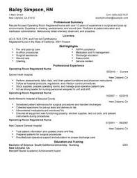 Operating room nurse resume to inspire you how to create a good resume 7