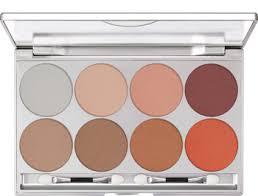 kryolan glamour glow powder palette