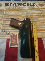 Bianchi Leather Holster Vintage Model 9r Smith Wesson