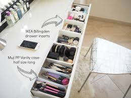 Makeup storage/vanity/bedroom tour Expat Make Up Addict-make up storage  ideas-ikea malm dresser