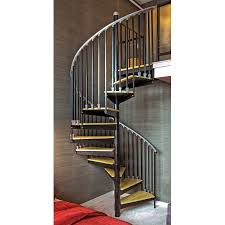 ... Entrancing Images Of Dolle Spiral Staircase For Your Inspiration :  Heavenly Image Of Home Interior Stair ...