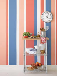 Striped painted walls Thefrontlist Rxhgmag022starsandstripes052a3x4 Hgtvcom Painting Multicolored Stripes On Wall Hgtv