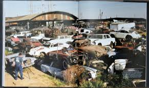 If you have an automotive (including trucks & motorcycles) related salvage yard and are interested in being listed onautomotivesalvageyards.com. Bookshelf Rusted Treasures Celebrated In Junkyard