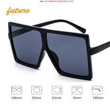 2018 most popular square women shades big frame oversized plastic sunglasses m1806